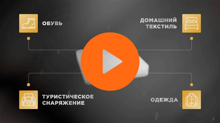 Видео Универсальные утеплители и наполнители Холлофайбер